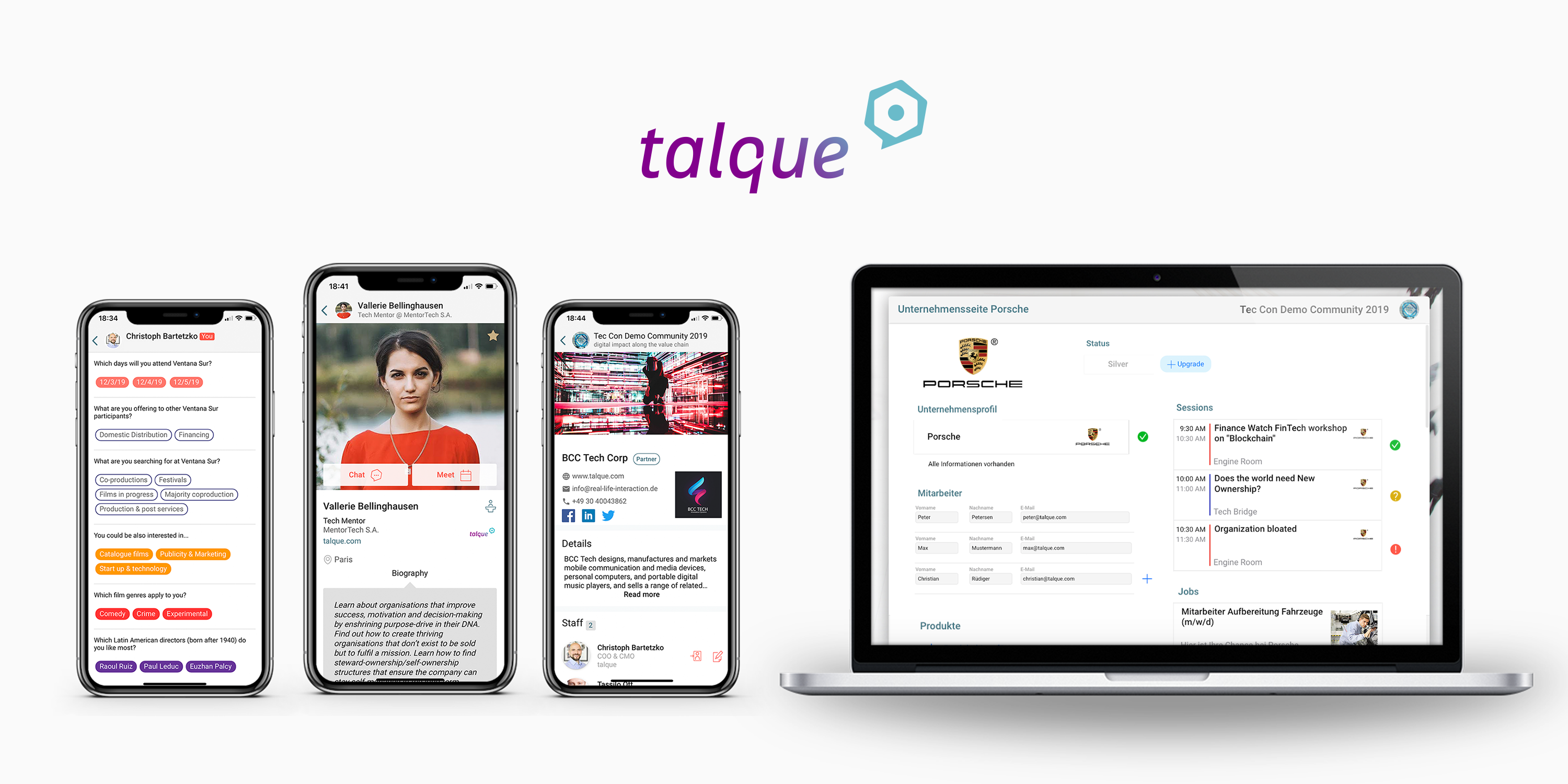 talque event management platform 1